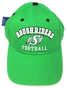 bb7e9bac91d Reebok CFL Football Roughriders Football Baseball Truckers Cap Hat  Adjustable  Reebok  BaseballCap Caps Hats