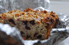 Fat free muesli breakfast bake. Ideal for breakfast on the go. Elevenses. Uses egg whites and fat free greek yoghurt    http://talesofpiglingbland.wordpress.com/2013/02/09/fat-free-mesuli-breakfast-bake/