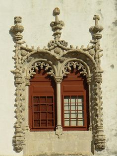 Window, Sintra National Palast (UNESCO WHS) | Portugal.