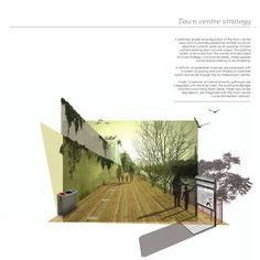 ISSUU – Portfolio: Landscape Architecture and Urbanism by Bart O Doherty - Architecture Design Ideas Collage Architecture, Plans Architecture, Landscape Architecture Design, Architecture Graphics, Architecture Drawings, Landscape Architects, Retail Architecture, Photoshop, Portfolio D'architecture