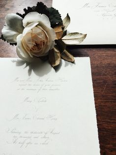 Wedding Boutonniere, Flowers, Groom, Elopement, Wedding Invitations   Gatherings by Caroline Quinn - Historic Roswell, Georgia