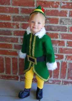 Elf.  (I want to dress my kids up at Christmas time too.  I just don't get enough at Halloween apparently)