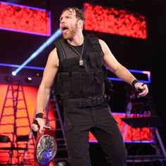 Dean Ambrose, one half of the RAW Tag Team Champions