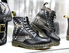 Dr. Martens and Pendleton Boots; F/W2012