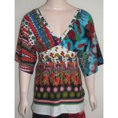 Desigual dámský top Blouse, Tops, Women, Fashion, Moda, Fashion Styles, Blouses, Fashion Illustrations, Woman Shirt