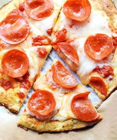 This coconut flour pizza crust is the best gluten-free pizza crust I've ever tried Source: www.healthyrecipesblogs.com