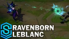League of Legends Ravenborn LeBlanc Skin Spotlight. Purchase RP here and help support this channel via the amazon affiliate program (NA): http://amzn.to/2leX...
