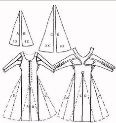 41 Best Costume History: Medieval Garment reconstruction