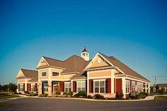 The Home Towne Square private clubhouse is open to all residents of the community.  #ownalandmark
