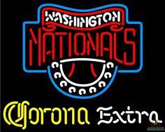 Corona Extra Washington Nationals Neon Sign MLB Teams Neon Light