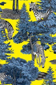Beautiful Patterns, Home Textile, Print Patterns, Backdrops, Interior Decorating, Tropical, Stripes, Wallpaper, Prints