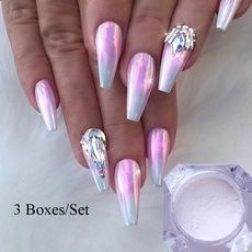 Chrome nail is a popular nail art design in recent years. Chrome nails use the latest technology. They use some gold or silver or other metallic colors to make them look metallic. Have you tried Chrome nail art designs before? Nail Art Designs, Chrome Nails Designs, Chrome Nail Art, Acrylic Nail Designs, Pink Chrome Nails, Neon Pink Nails, Fancy Nails Designs, Bling Nails, Swag Nails
