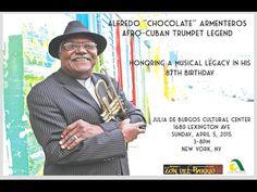 Alfredo Chocolate Armenteros' 87th birthday w/ Zon del Barrio