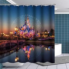 18 99 BTTY Fairyland Castle For Kids Disney Shower Curtain disney bathroom decor shower curtains disney castle shower curtain Disney Shower Curtain, Shower Curtains, Disney Bathroom, Kid Bathroom Decor, Purple Wine, Kids Boutique, Curtains For Sale, Fairy Land