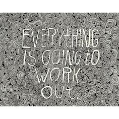 Everything is Going to Work Out by Lisa Congdon, as featured on Pigma Micron's brand new site.