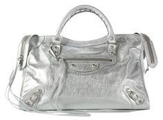 Balenciaga Cross Body Bag Silver City 5344dd98e9eb3