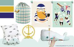 Jongenskamer zeeman inspiratie | Boysroom sailor | Kinderkamerstylist.nl