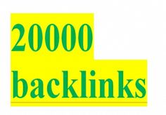 Scrapebox 20,000 backlinks !!! for $15