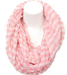 Striped and Chevron Infinity Scarves, Just $4.99!