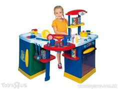 Just Like Home Mix N Match Kitchen Center Kong Toys, Little Chef, Toy R, Chefs, Kids Playing, Toy Chest, Storage Chest, Playroom, Kitchen