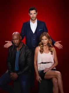 Tom Ellis, D.B. Woodside Tease Troubles Lucifer, Amenadiel Will Face With Charlotte And Maze In 'Lucifer' Season 2 Premiere