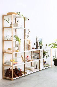 APT | beautifully styled shelves