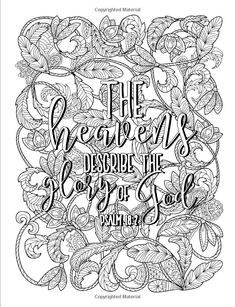 Color The Psalms Catholic Coloring Devotional Religious Inspirational Bible Verse Books For