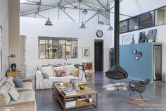 Une maison loft en région parisienne, Vaucresson, Haut de Seine., Marque de Fabrik - décorateur d'intérieur