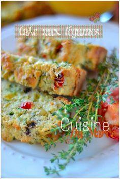 Cake aux légumes, facile et fondant !! #recette #cake #légume
