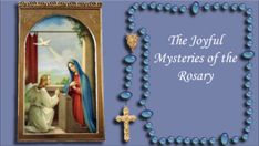 These Catholic Rosary videos are so helpful: children, elderly, home bound. October is the Month of the Holy Rosary and October 7 is the feast of the Rosary. Our Lady of the Rosary, pray for us!