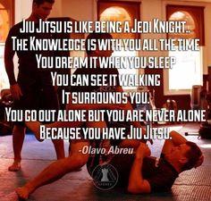 """Jiu-Jitsu is like being a Jedi Knight.the knowledge is with you all the time--you dream it when you sleep, you can see it walking, it surrounds you. You go out alone but you are not alone because you have Jiu-Jitsu. Prince Andrew, Aikido, Judo, Elizabeth Ii, Karate, Carlos Gracie, Jiu Jitsu Quotes, Bjj Memes, Jiu Jitsu Training"