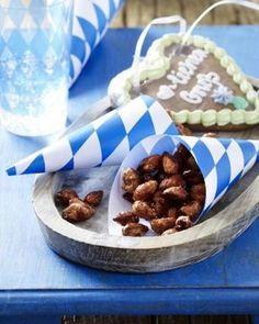 Oktoberfest-Fingerfood: Gebrannte Mandeln