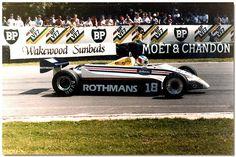 Raul Boesel March Ford 821 1982 British GP Brands Hatch