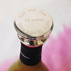 Personalised Wine Bottle Stopper - This Valentine's Day we've all kinds of heartfelt finds, from the UK's best small creative businesses.