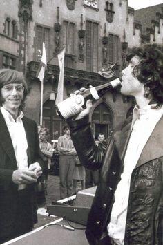 Jim Morrison and Ray Manzarek (The European Tour) The Doors Jim Morrison, Elevator Music, The Doors Of Perception, Psychedelic Rock, All About Music, American Poets, Light My Fire, Janis Joplin, Jimi Hendrix
