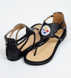 Show details for Pittsburgh Steelers Women's Cuce Sandal