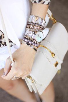 FashionCoolture - 29.02.2016 look du jour all white outfit Leopard print (3)
