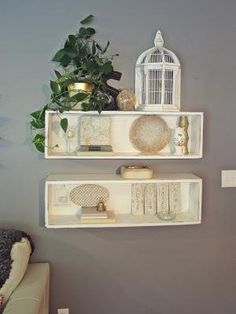 DIY home crafts DIY An amateurs guide to decorating shelves DIY home crafts