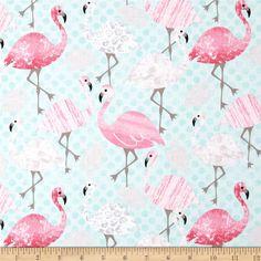 pink flamingo nursery bedding set