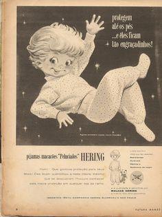 Propaganda malhas Hering  - junho 1962: