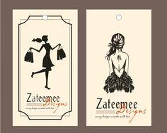Nombre de marca personalizada logo moda boutique de diseño casa de papel precio etiqueta de la caída, prendas de vestir ropa ropa oscilación papel de la caída etiquetas etiquetas(China (Mainland))