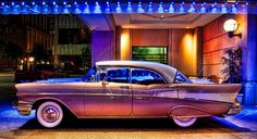 1957 Chevy Bel-Air 4-Door.  It's such a Beauty.     Photo taken by Trey Ratcliff.