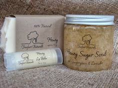 The Funky Monkey Giveaway: Treefort Naturals All Natural Honey Soap Gift Set - Ends 10/21/13