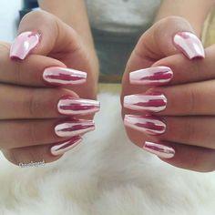 Chrome Nails - PINK