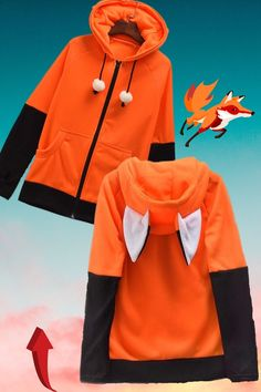 Yes! This hoodie has ears & thumb holes ! Available now on our website. Urban Chic Outfits, Cute Casual Outfits, 90s Fashion, Fashion Outfits, Animal Sweater, Outfit Invierno, Cool Hoodies, Ideias Fashion, Website