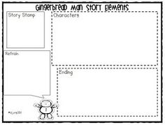 Printable Gingerbread Story Comparison Chart | 1st grade holidays ...