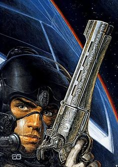 """Juan Giménez is one of my favorite artists. His illustrations are a pleasure to look at, and if you have time, please, read """"The Metabarons"""" a treasure of sci-fi comic. Sci Fi Comics, Bd Comics, Arte Sci Fi, Sci Fi Art, Comic Book Artists, Comic Artist, Cyberpunk, Space Opera, Pub Vintage"""