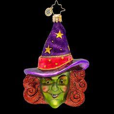 RADKO I PUT A SPELL ON YOU Wicked Witch Halloween Glass Ornament Radko http://www.amazon.com/dp/B00I78B8CQ/ref=cm_sw_r_pi_dp_jaBeub0Z46YB8