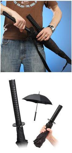 Samurai Umbrellas