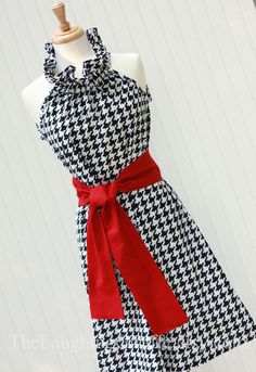 cute houndstooth dress